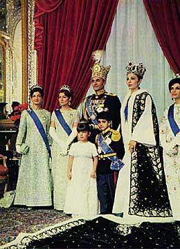 محمد رضا شاه و خانواده